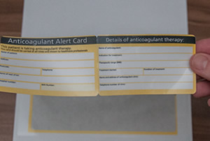 healthcare integrated cards